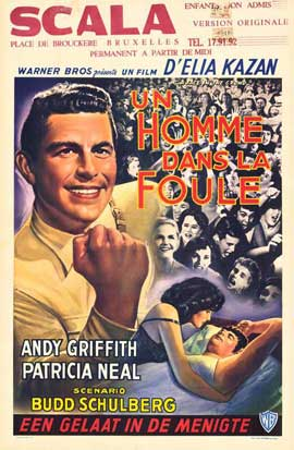A Face in the Crowd - 11 x 17 Movie Poster - Belgian Style A