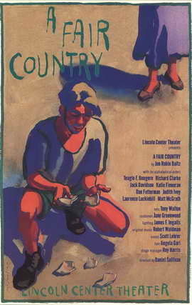 A Fair Country (Broadway) - 11 x 17 Poster - Style A