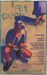 A Fair Country (Broadway) - 27 x 40 Poster - Style A