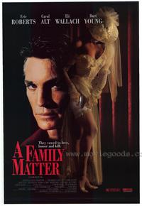 A Family Matter - 27 x 40 Movie Poster - Style A