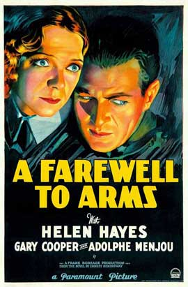 A Farewell to Arms - 11 x 17 Movie Poster - Style A