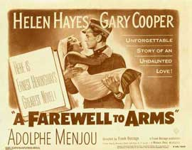 A Farewell to Arms - 11 x 14 Movie Poster - Style I