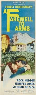 A Farewell to Arms - 14 x 36 Movie Poster - Insert Style A
