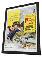 A Farewell to Arms - 11 x 17 Movie Poster - Style A - in Deluxe Wood Frame