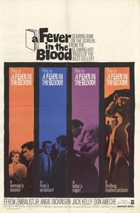 A Fever in the Blood - 27 x 40 Movie Poster - Style A