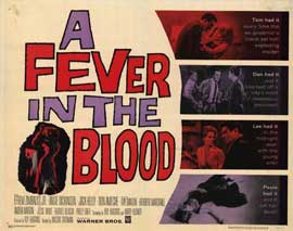 A Fever in the Blood - 22 x 28 Movie Poster - Half Sheet Style A