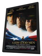A Few Good Men - 11 x 17 Movie Poster - Style C - in Deluxe Wood Frame