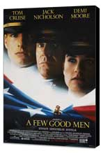 A Few Good Men - 11 x 17 Movie Poster - Style C - Museum Wrapped Canvas