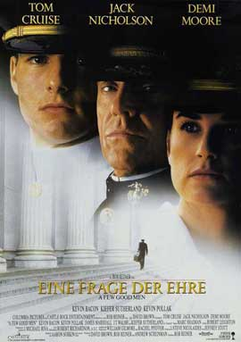 A Few Good Men - 27 x 40 Movie Poster - German Style A