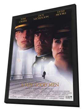 A Few Good Men - 11 x 17 Movie Poster - Style A - in Deluxe Wood Frame