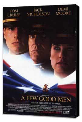 A Few Good Men - 27 x 40 Movie Poster - Style A - Museum Wrapped Canvas