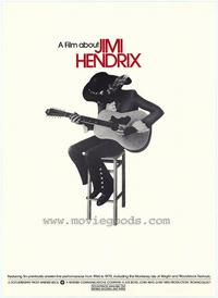 Film About Jimi Hendrix, A - 43 x 62 Movie Poster - Bus Shelter Style A