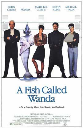 A Fish Called Wanda - 11 x 17 Movie Poster - Style A