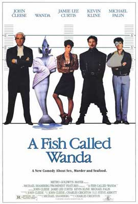 A Fish Called Wanda - 27 x 40 Movie Poster - Style A