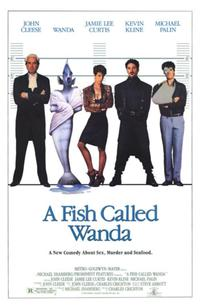 A Fish Called Wanda - 43 x 62 Movie Poster - Bus Shelter Style A