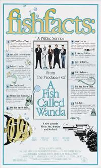 A Fish Called Wanda - 43 x 62 Movie Poster - Bus Shelter Style B