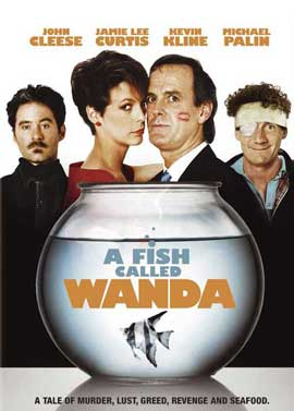 A Fish Called Wanda - 27 x 40 Movie Poster - Style C