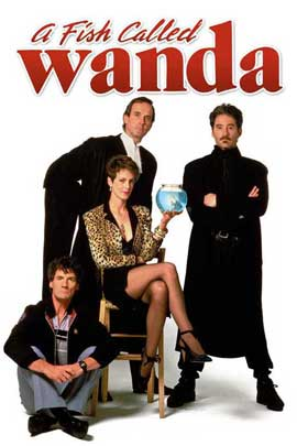 A Fish Called Wanda - 27 x 40 Movie Poster - Style D