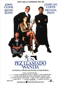 A Fish Called Wanda - 27 x 40 Movie Poster - Spanish Style A