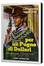 A Fistful of Dollars - 11 x 17 Movie Poster - Italian Style A - Museum Wrapped Canvas