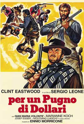 A Fistful of Dollars - 27 x 40 Movie Poster - Italian Style A