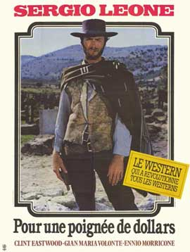 A Fistful of Dollars - 11 x 17 Movie Poster - French Style A