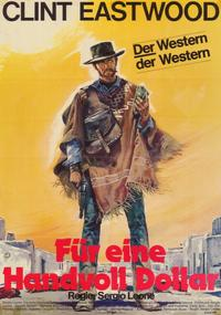 A Fistful of Dollars - 11 x 17 Movie Poster - German Style A