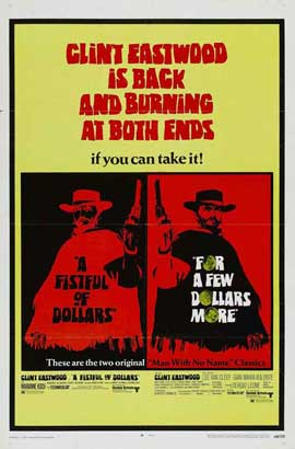 A Fistful of Dollars - 27 x 40 Movie Poster - Style B