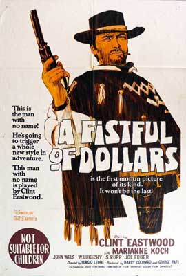 A Fistful of Dollars - 11 x 17 Movie Poster - Australian Style A