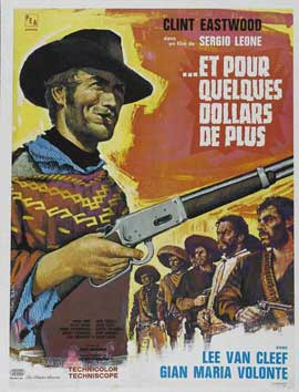 A Fistful of Dollars - 11 x 17 Movie Poster - French Style B