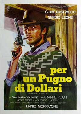 A Fistful of Dollars - 11 x 17 Movie Poster - Italian Style A