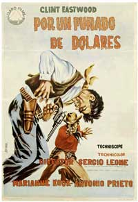 A Fistful of Dollars - 27 x 40 Movie Poster - Spanish Style B