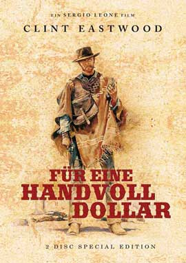 A Fistful of Dollars - 27 x 40 Movie Poster - German Style D