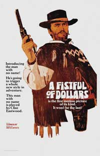 A Fistful of Dollars - 43 x 62 Movie Poster - Belgian Style A