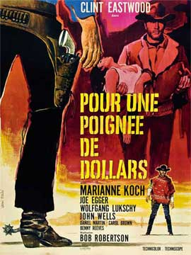 A Fistful of Dollars - 27 x 40 Movie Poster - Spanish Style C