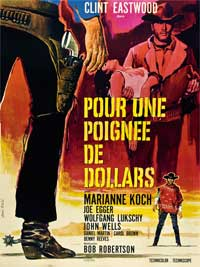 A Fistful of Dollars - 43 x 62 Movie Poster - French Style A