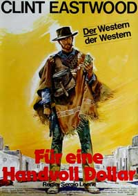 A Fistful of Dollars - 11 x 17 Movie Poster - German Style E