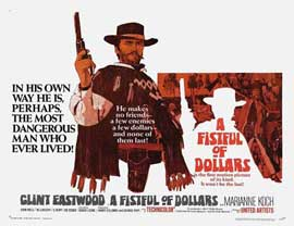 A Fistful of Dollars - 11 x 14 Movie Poster - Style I