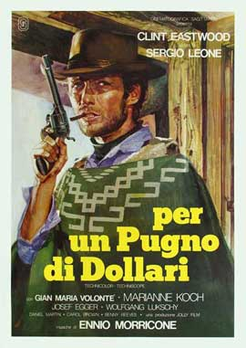 A Fistful of Dollars - 27 x 40 Movie Poster - Italian Style B