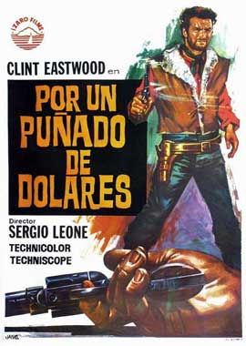 A Fistful of Dollars - 11 x 17 Movie Poster - Spanish Style C