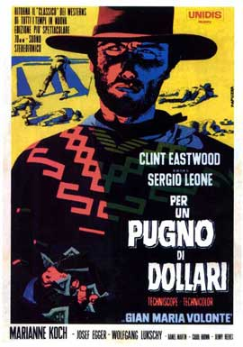 A Fistful of Dollars - 11 x 17 Movie Poster - Italian Style D