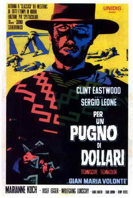 A Fistful of Dollars - 27 x 40 Movie Poster - Italian Style D
