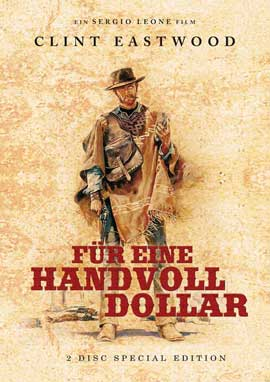 A Fistful of Dollars - 11 x 17 Movie Poster - German Style B