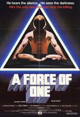 Force of One - 11 x 17 Movie Poster - Style A