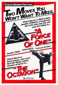 Force of One - 27 x 40 Movie Poster - Style B