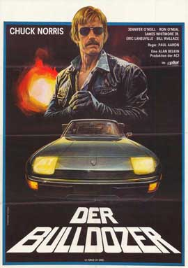 Force of One - 27 x 40 Movie Poster - German Style A