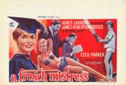 A French Mistress - 11 x 17 Movie Poster - Belgian Style A