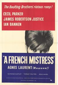 A French Mistress - 27 x 40 Movie Poster - Style A