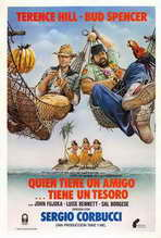 A Friend Is a Treasure - 27 x 40 Movie Poster - Spanish Style A