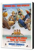 A Friend Is a Treasure - 27 x 40 Movie Poster - Spanish Style A - Museum Wrapped Canvas